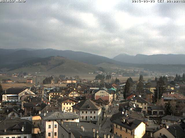 Webcam Asiago centro (vista nord)